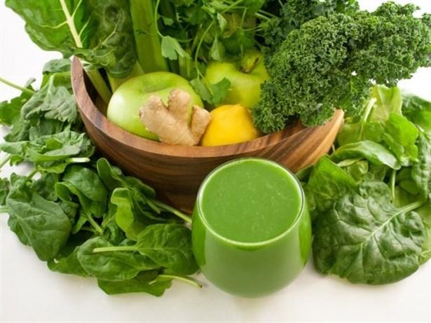Kilo Vermenin En Sağlıklı Yolu: Yeşil Detoks!